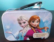 Disney Frozen Gift Card Holder - Collectible Tin Mini Lunchbox - Hallmark - Nwt
