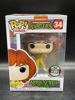 "Funko Pop Retro Toy TMNT : APRIL O'NEIL #34 Vinyl Figure ""Mint Box"""