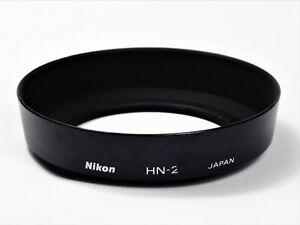 ** EXCELLENT+ ** Nikon HN-2 Lens Hood for Nikon 35mm F1.4 F2.0  55mm 35-105mm
