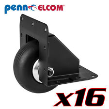 "16 Penn Elcom W2080K/HD 3""Heavy Duty Recessed Corner Caster Durable Steel Black"