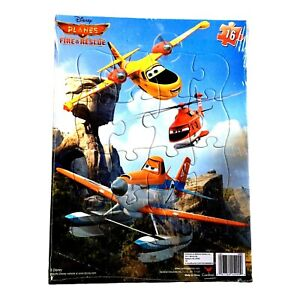 Disney Planes Fire & Rescue 16 Piece Frame Tray Puzzle Cardinal Industries New