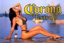 Corona Extra Beer Babe  Refrigerator / Tool Box Magnet Kegerator