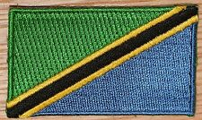 TANZANIA Country Flag Embroidered PATCH Badge