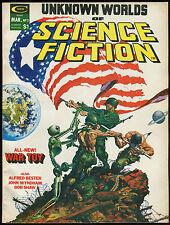 Unknown Worlds of Science Fiction 2 Magazine Kaluta Frank Brunner George Pérez