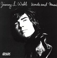 Words and Music; Jimmy Webb 2006 CD, Middle Of The Road, Country Pop, Collector'
