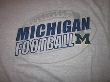 MICHIGAN WOLVERINES football tee shirt medium - NWT