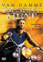 Desert Heat DVD (2004) Jean-Claude Van Damme, Mulroon (DIR) cert 18 Great Value