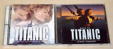 2 CD Set Titanic & Back to Titanic colonna sonora Celine Dion James Horner est