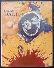 Libro Homage to Dali,año 1980,Chartwell Books, NJ