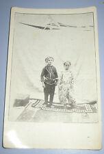Midgets Dwarfs Little People Postcard Bosnia Travnik Kingdom Yugoslavia Rare