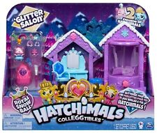 Hatchimals Colleggtibles Royal Snow Ball Glitter Salon Playset