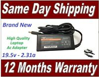 Dell Inspiron 7348 Laptop Adapter Replacement Charger 45W + UK Power Lead