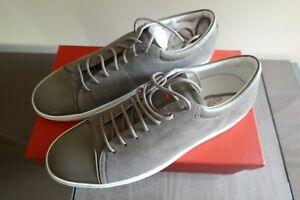 Hugo Boss CassualFut Tennis Suede Sneakers Medium Grey Size 11 EU44 Retail $398