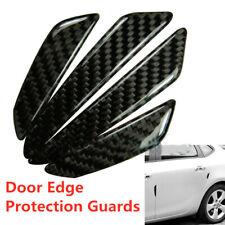 Carbon Fibre Black 4pcs Car Auto Side Door Edge Protection Guard Trim Sticker