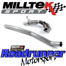 """MILLTEK AUDI TTS MK3 2.0 TFSi quattro tubi di scolo Hi Flow Sport Cat 3"""" SCARICO & CE"""