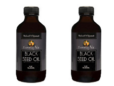 Sunny Isle Jamaican Black Seed Oil 4oz Reliever Hair Growth Stimulator (2 PACK)