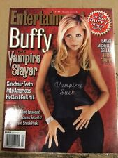 October 1999 Buffy The Vampire Slayer Sarah Michelle Gellar Entertainment Weekly