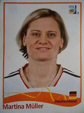 Panini 42 Martina Müller Deutschland FIFA WM 2011 Germany