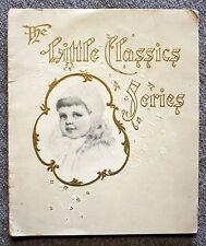 1890s LITTLE CLASSICS SERIES Aesop Fables CHILDREN'S Children BOSTON Aesop's