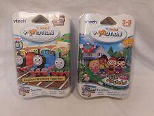 Vtech V.Smile V. Motion Active Learning System 2 Game Cartridges Thomas + Einst