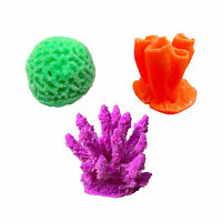 3 Pack of Small Freshwater & Saltwater Aquarium Decorations Made in USA (Kit 3)