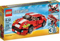 LEGO Creator 3-in-1 Roaring Power 31024. NEW, Sealed 2014 Retired  FREE Shipping