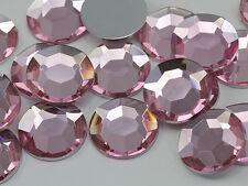 20mm Pink H117 Large Flat Back Acrylic Rhinestones High Quality - 20 PCS