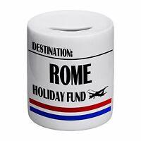 Destination Rome Holiday Fund Novelty Ceramic Money Box
