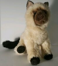 Douglas Cuddle Toys Plush Himalayan (?) Cat - Very Good Clean Condition