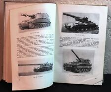 Soviet Russian USSR book tanks and tank troops description military army guide