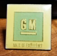 GM Mark of Excellence Enamel Lapel or Hat Pin, Tie Tack