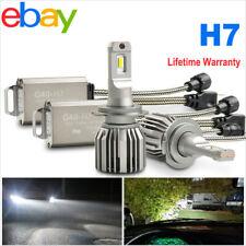 2x H7 LED Headlight Bulbs Conversion 72w 10800LM Kit High Low Beam 6000K White