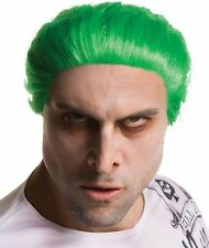 Suicide Squad The Joker Green Costume Wig Deluxe Adult Leto DC Comics - Fast -