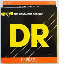 Dr Mlr-45 Hi Beam Bass Guitar Strings 45-100 medium-lite gauge