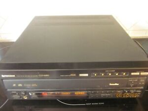 PIONEER CLD-M90 COMBO LASERDISC/CD PLAYER NO REMOTE WORKS WELL