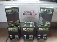 HUSABERG FE250 FITS 2013 HIFLOFILTRO OIL FILTER  HF655  5 PACK