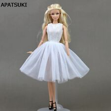 Doll Accessories Costume Ballet Dress Lace Skirt Dress Clothes For Barbie Doll