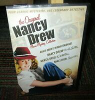 NANCY DREW: MOVIE MYSTERY COLLECTION - 4 CLASSIC MYSTERIES 2-DISC DVD SET, B&W