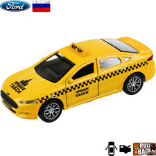 Diecast Vehicles Scale 1:36 Ford Mondeo Russian Taxi Model Car