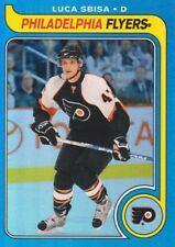 2008-09 O-Pee-Chee 1979-80 Retro Rainbow Luca Sbisa 028/100 Phil. Flyers