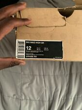 """Big Nike High Qk """"WOLVERINE"""" Size 12 - Pre Owned"""