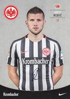 Ante REBIC - Kroatien, Eintracht Frankfurt, 2016/17, Original-Autogramm!