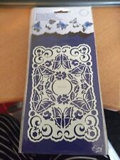English Embossing stencil Marianne design 13x9 cm new (J386)