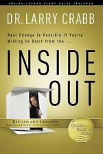 INSIDE OUT - CRABB, LARRY, DR. - NEW PAPERBACK BOOK W/ STUDY GUIDE - FREE SHIP!!