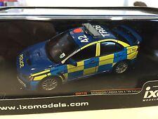 Mitsubishi Lancer Evo X UK Police 2008  1:43 IXO  AUTO-UK POLIZEI-MOC116