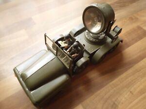 HAUSSER / ELASTOLIN * 744 * Scheinwerferwagen mit E- Motor * ORIG.- KARTON *