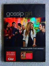 BRAND NEW Inclu AudioBook Download of Novel Gossip Girl 1st Season WS DVD BoxSet
