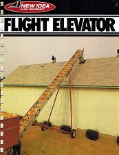 NEW IDEA 177 FLIGHT ELEVATOR  SPECIFICATIONS and SALES BROCHURE