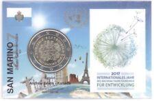 2 Euro Coincard / Infokarte San Marino 2017 Tourismus