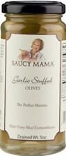 (Case of 6) Saucy Mama Garlic Stuffed Olives